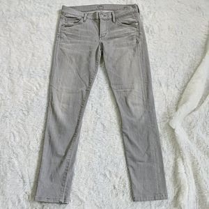 Citizens of humanity skinny gray pants jeans 26